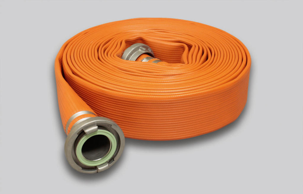 OSW Fire Fighting Hose Syntex Unidur Dragon orange