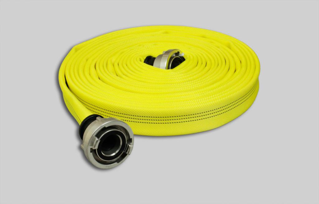 Nivel de rendimiento 3 Manguera de incendios  Syntex Signal Robust, amarillo brillante