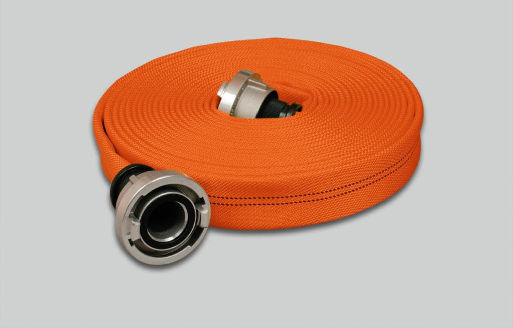 Nivel de rendimiento 2 Manguera de incendios Syntex Signal Extra, naranja brillante