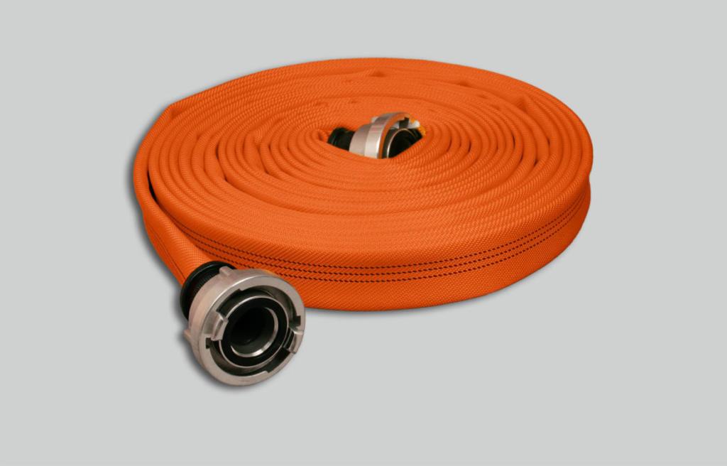 Nivel de rendimiento 3 Manguera de incendios Syntex Signal Robust, naranja brillante